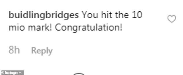 buildingbridges You hit the mio mark