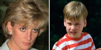 cropped Diana made William cry after smacking him on the bottom Image GETTY