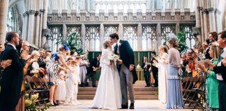 cropped Ellie Gouldings Wedding Dress Was Designed By Chloé Photo C MATT PORTEOUS
