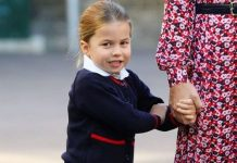 cropped Kate Middleton lip reading Kate Duchess of Cambridge takes Princess Charlotte to school Image Aaron Chown WPA Pool Getty Images