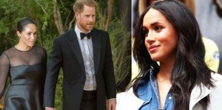 cropped Meghan Markle She wore jewellery gifted from Prince Harry while they were dating Image GETTY