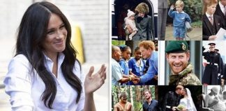 cropped Meghan Markle and Prince Harry The hidden meaning behind Meghan's birthday post to Harry Image GETTY