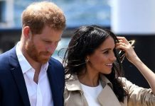 cropped Meghan Markle news Meghan Markle Duchess of Sussex pictured wearing Princess Dianas butterfly earrings with Prince Harry on Australia