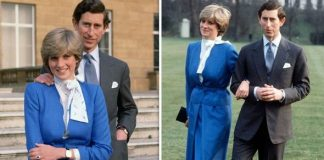 cropped Prince Charles and Princess Diana became engagaed in Image Getty