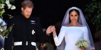 cropped Prince Harry and Meghan Markle send gorgeous wedding photo after receiving well wishes on first anniversary Photo C GETTY IMAGES