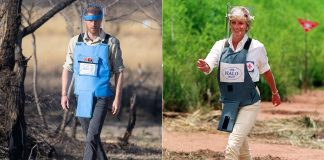 cropped Prince Harry follows in Princess Dianas footsteps at Angolan landmine Photo C GETTY IMAGES