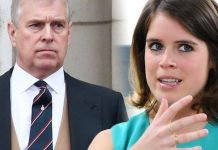cropped Princess Eugenie row Eugenie got in trouble for posting a photo of her dad Prince Andrew Image GETTY