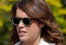 cropped Princess Eugenie shocks in a sharp black suit at New York Fashion Week Photo C GETTY IMAGES