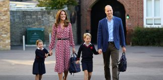 cropped cambridges at school charlotte first day a