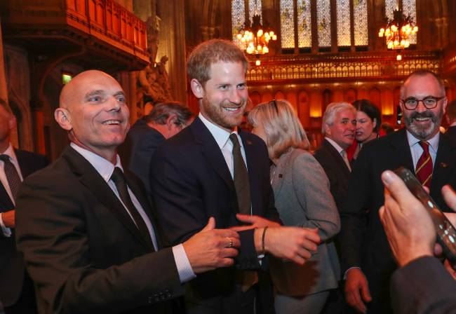 rince Harry stepped out for the fifth anniversary celebrations of the Invictus Games on Tuesday Photo C GETTY IMAGES