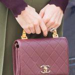 A closer look at Kates very chic handbag Photo C GETTY IMAGES