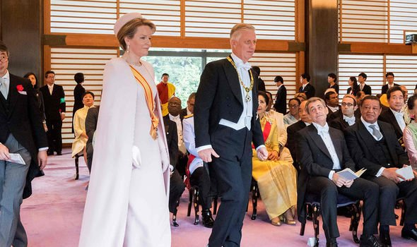 Belgiums King Philippe and Queen Mathilde Image GETTY