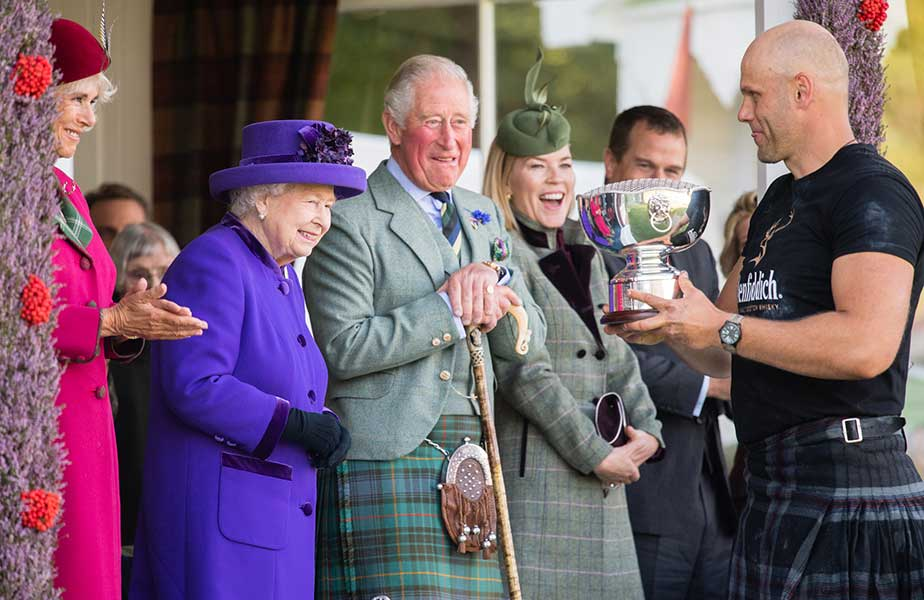 Camilla the Queen Charles and Autumn Phillips at the Braemar Gathering Photo C GETTY IMAGES