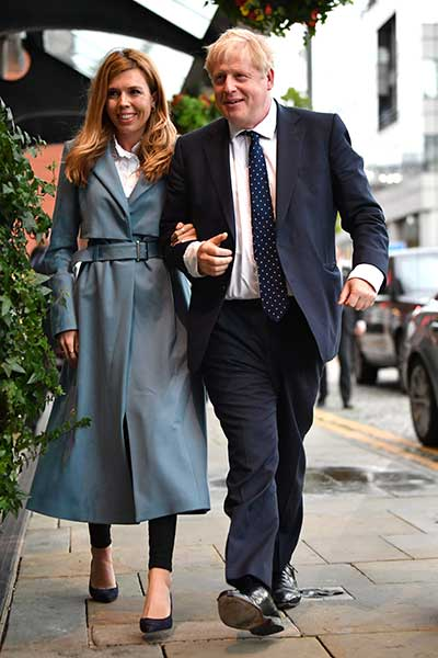 Carrie Symonds and Boris Johnson were invited to Balmoral Photo C GETTY IMAGES