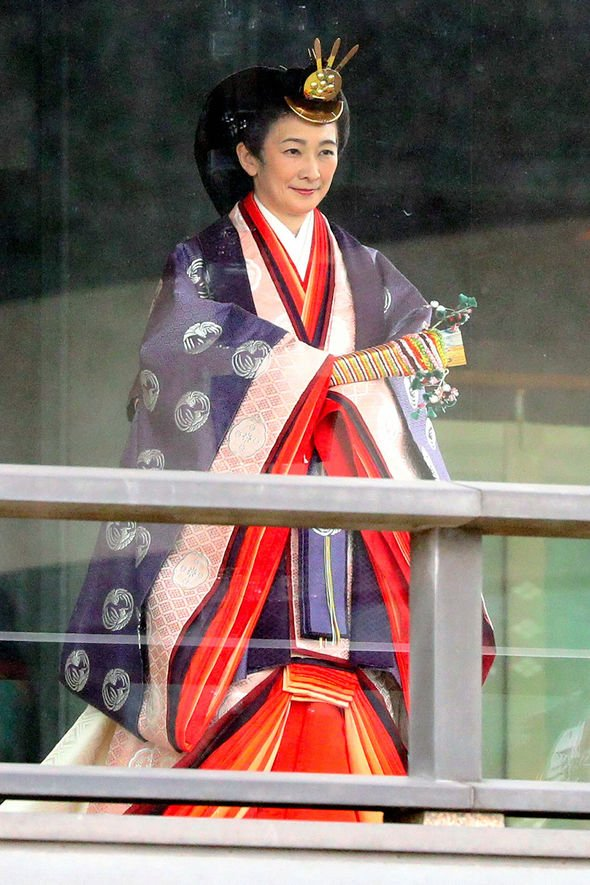 Crown Princess Kiko of Akishino who married the second eldest son of the former Emperor Image GETTY