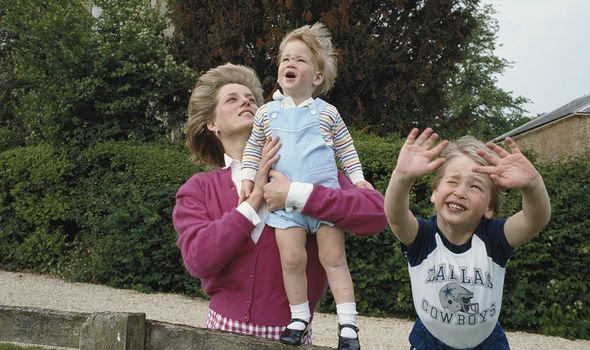 Diana was reportedly very close with both of her boys Image GETTY