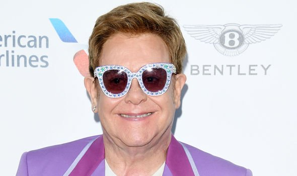 Elton John was writing in his autobiography Image GETTY