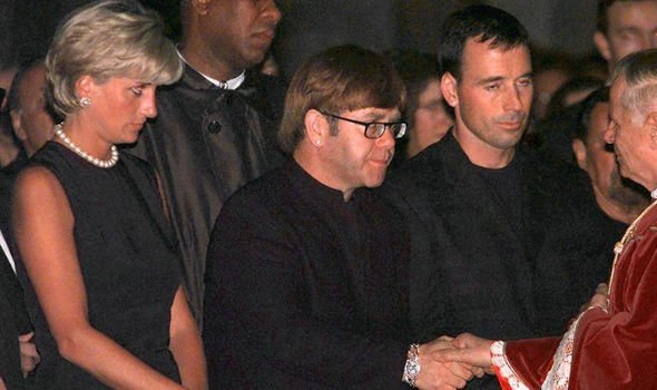 Elton was a well known friend of Diana's and remains close with her sons Image GETTY