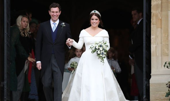 Eugenie and Jack got married