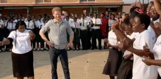 Footage of Prince Harry was shown on the Instagram video Image INSTAGRAM•SUSSEXROYAL