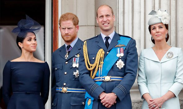 Harry and William are said to have now fallen out Image GETTY