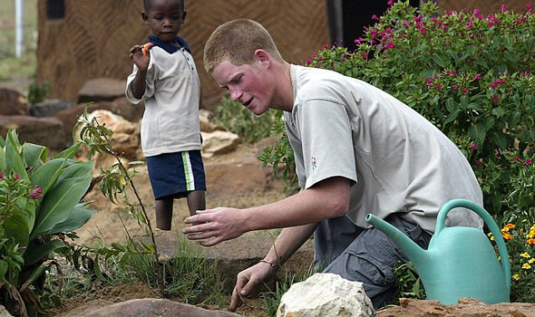 He has previously filmed documentaries with Prince Harry in Lesotho in and Image GETTY