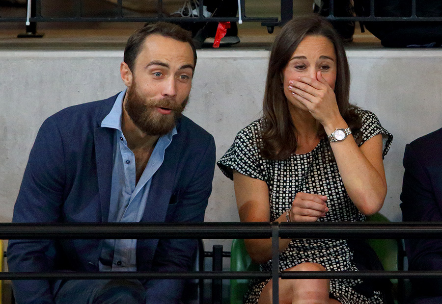James and Pippa Middleton Photo C GETTY IMAGES
