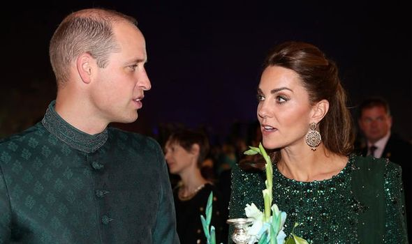 Kate Middleton news William and Kate visited Islamabads Pakistan monument Image Getty