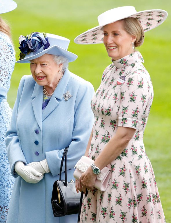 Kate Middleton snub The Queen with Sophie Countess of Wessex at Ascot this year Image GETTY