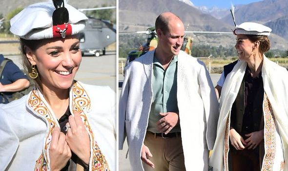 Kate and Prince William joked about the Dukes Geographys knowledge Image GETTY