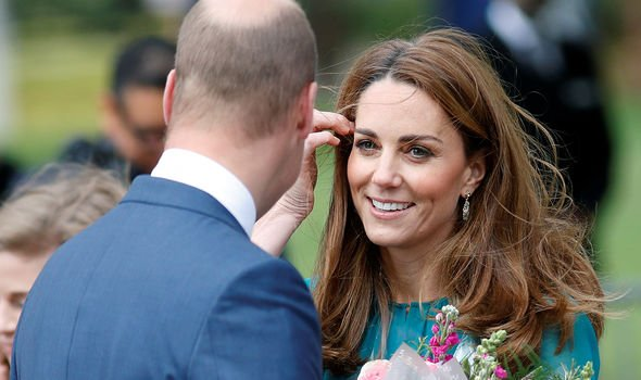 Kate and William will leave for Pakistan in two weeks Image REUTERS