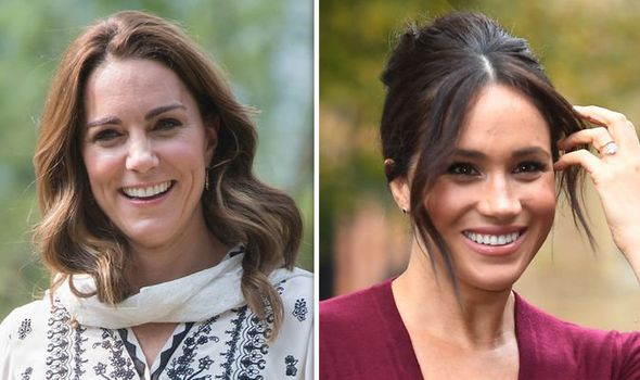 Kate has been offering advice and comfort to Meghan Markle Arbiter claimed
