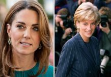 Kate was advised by Buckingham Palace to watch old footage of Princess Diana Image GETTY