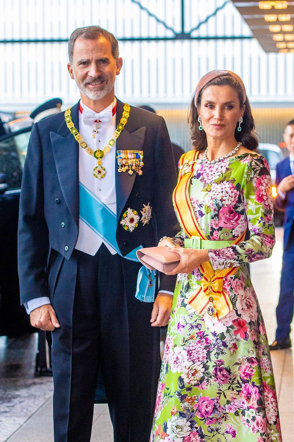 King Felipe and Queen Letizia of Spain Image GETTY