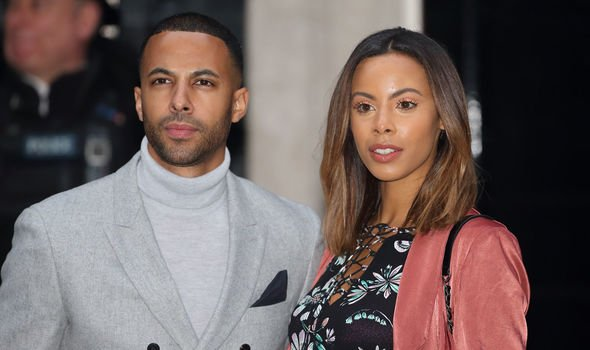Marvin and Rochelle Humes Image GETTY
