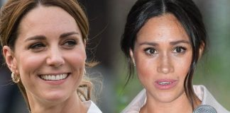Meghan Markle and Kate Middleton Kate was voted more popular than Meghan Image GETTY