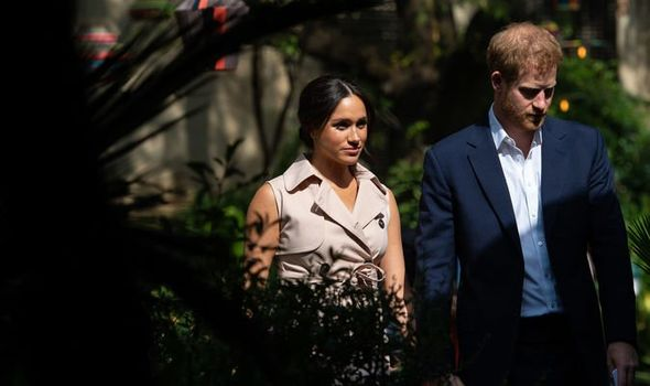 Meghan Markle news A documentary behind the scenes of Meghan and Harrys Africa tour is coming Image PA