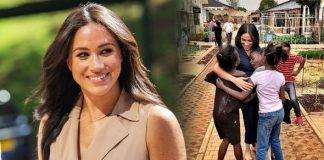Meghan Markle shoes Over the weekend she made a surprise appearance in Johannesburg Image Getty Sussex Royal Instagram