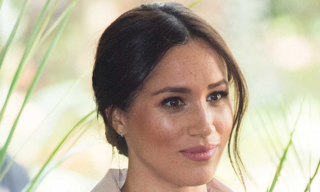 Meghan Markle tears up as she admits life in the spotlight is a struggle Image GETTY