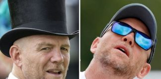Mike Tindall hasnt followed any of his royal family Image GETTY