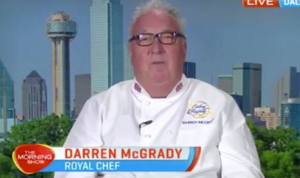 Mr McGrady has recalled the weekend Diana nearly set the palace's kitchen on fire Image THE MORNING SHOW