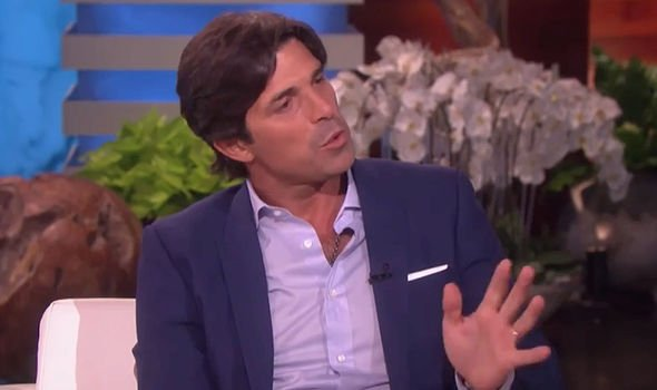 Nacho Figueras was applauded after his comments Image ELLEN