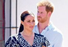 ON GUARD Harry has accused the press of bullying Meghan Image WireImage