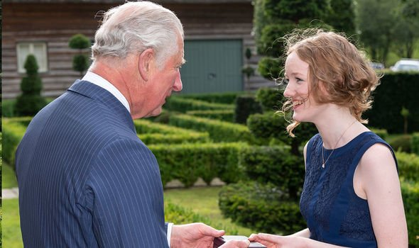 Prince Charles and Alis Huws Image GETTY