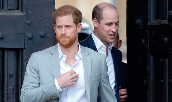 Prince Harry news Harry spoke of his relationship with William Image GETTY