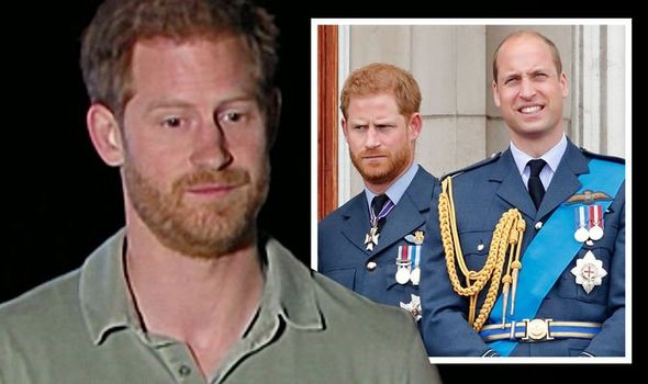 Prince Harry opened up on the relationship between his brother and him Image ITV GETTY