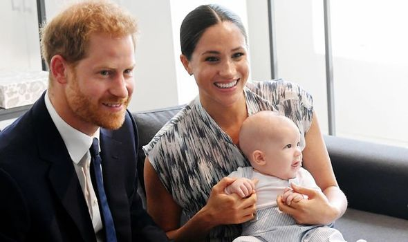 Prince Harry statement With their baby Archie Image Getty