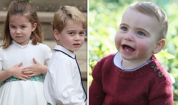 Prince Louis will take on a huge role next year Image GETTY