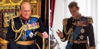 Prince Philip Matt Smoth as Prince Philip