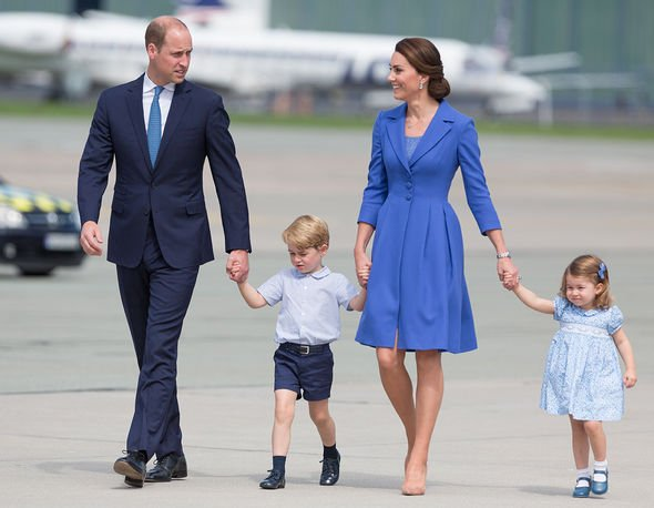 Prince William In July the Cambridge family flew on a royal tour to Poland and Germany Image Getty Images